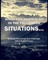 a book explaining problems in prayer and wadoo, knowledge of islam