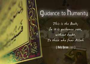 Quran Guidance to Humanity