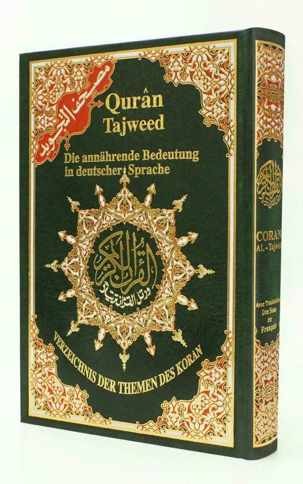 Tajweed Quran with Meanings Translation in German - Dar Al ...