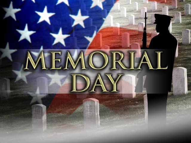 Memorial Day Flag & Soldier