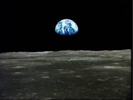 Sicht vom Mond