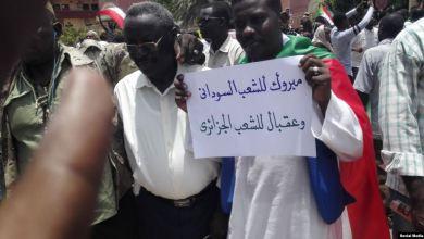 من مظاهرات السودان