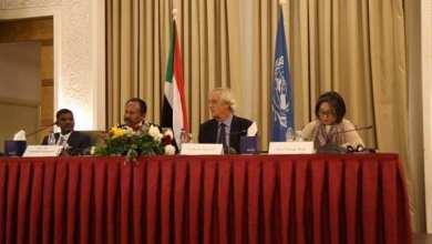 حمدوك في الاجتماعي التنسيقي للأمم المتحدة