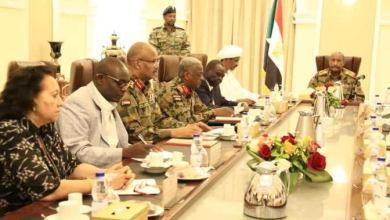 اجتماع المجلس السيادي ومجلس الوزراء أمس 13 سبتمبر 2019 ببيت الضيافة