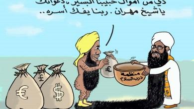 مهران في خندق عبدالحي يوسف... كاريكاتير عمر دفع الله