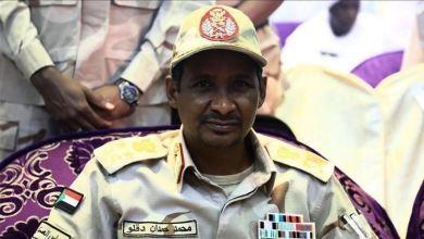 عضو مجلس السيادة السوداني الفريق أول محمد حمدان دقلو (حميدتي)