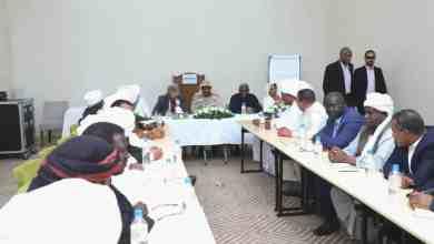 السيادي يرأس اجتماعا بجوبا مع قيادات الإدارة الأهلية لشرق السودان