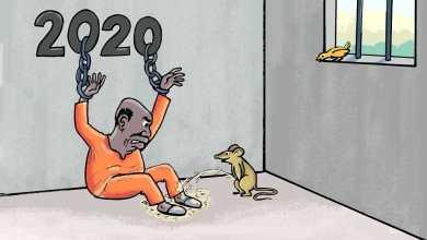 2020 سنة إعدام البشير ... كاريكاتير عمر دفع الله