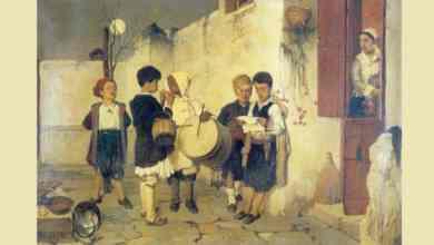 كاندالا، لوحة رسمها الفنان اليوناني نيكيفوروس ليتراس عام 1872