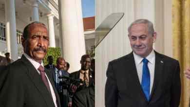 نتنياهو والبرهان AFP