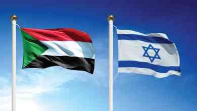العلمين السوداني والإسرائيلي