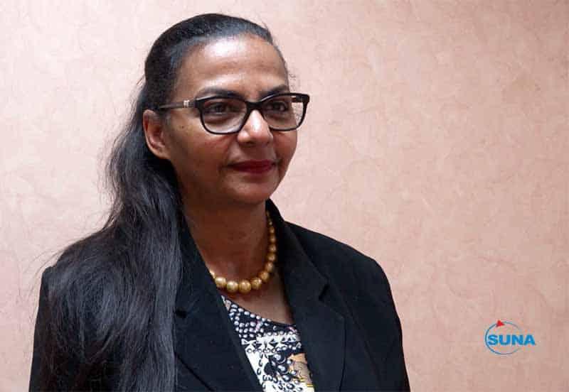 وزيرة المالية هبة محمد