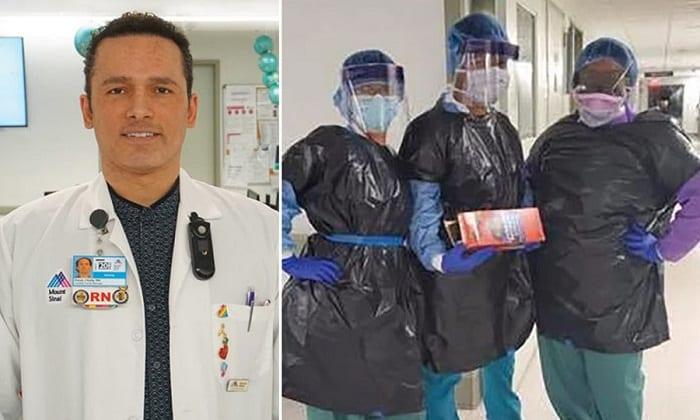 مدير التمريض في مستشفى Mount Sinai West بمدينة نيويورك بعد إصابته بفيروس كوفيد ١٩ وعمره ٤٨. وبسبب نقص مستلزمات الوقاية أجبر العاملون في المستشفى على ارتداء اكياس الزبالة كمعدات واقية.
