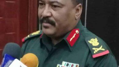 والي ولاية الجزيرة المكلف اللواء الركن أحمد حنان أحمد صبير