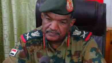 اللواء الركن محمد محمد الحسن الساعوري والي الولاية الشمالية