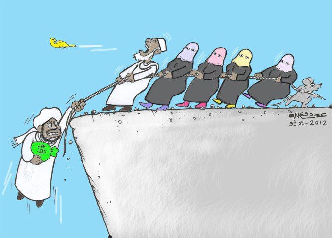انقاذ ... كاريكاتير عمر دفع الله