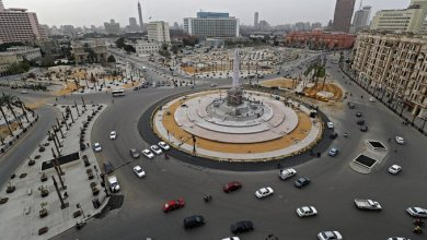 ميدان التحرير وسط القاهرة في 25 آذار/مارس 2020.© أ ف ب/ أرشيف