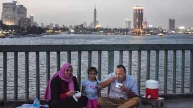 يعد النيل شريان الحياة لمصر ويخشى على بقائها بدونه GETTY IMAGES
