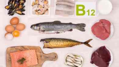 مصادر فيتامين B12