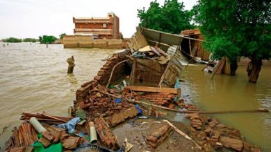 فيضانات السودان GETTY IMAGES
