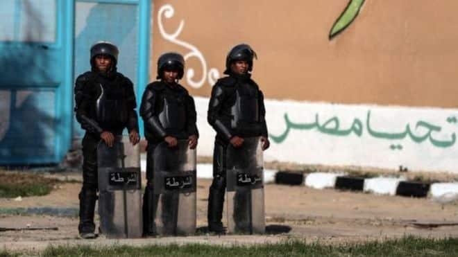 الشرطة المصرية GETTY IMAGES