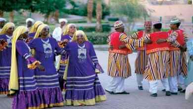 من الرقصات الشعبية النوبية