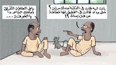 عمر حسن البشير ... كاريكاتير عمر دفع الله