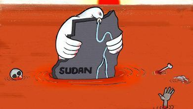 الجبهة الثورة السودانية ... كاريكاتير عمر دفع الله
