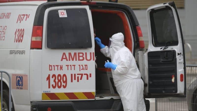 خدمة الإسعاف الإسرائيلية أدانت الواقعة GETTY IMAGES