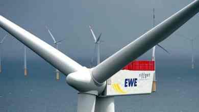 الطاقة الفائضة من مزارع الرياح يمكن استغلالها في انتاج الهيدورجين GETTY IMAGES