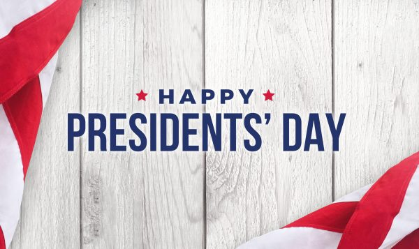 Today is Presidents' Day