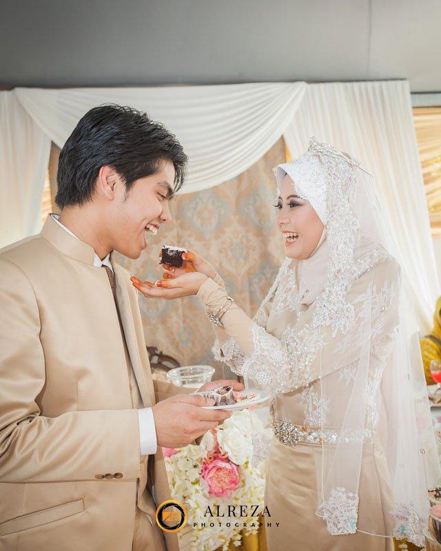 Bride and Groom Malay Wedding Photography
