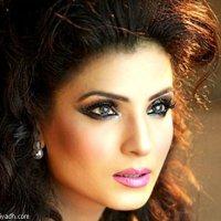 Pakistani Lollywood actress Resham