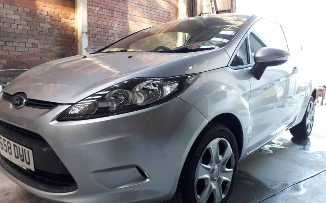 Ford painted at ALR Paint and Body in Wigan