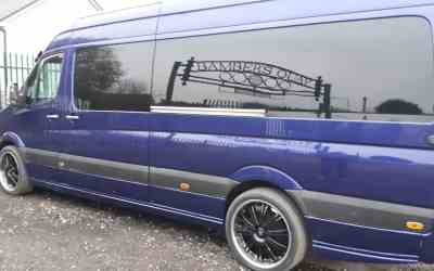 Van painted at ALR Paint and body