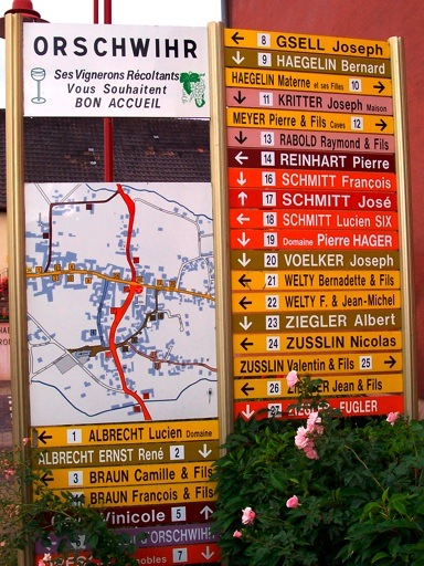 Guide To The Wines Villages And Terroirs Of Alsace Orschwihr