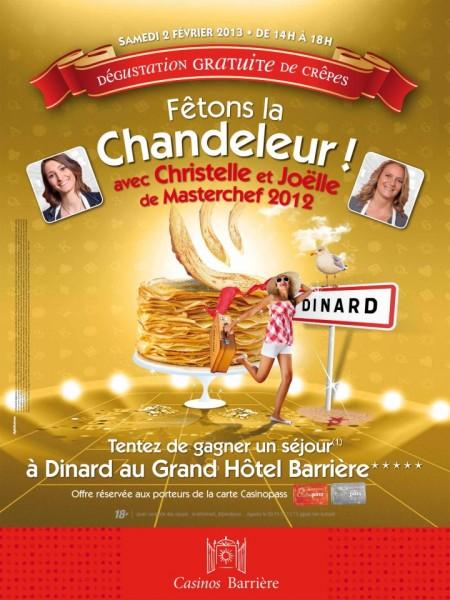 """""""Fêtons la chandeleur"""" au Casino de Ribeauvillé"""