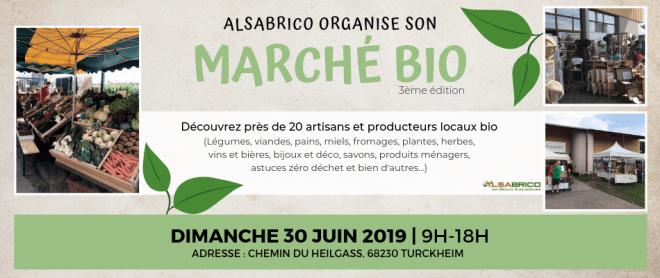 Marché Bio chez Alsabrico | Centre-Alsace