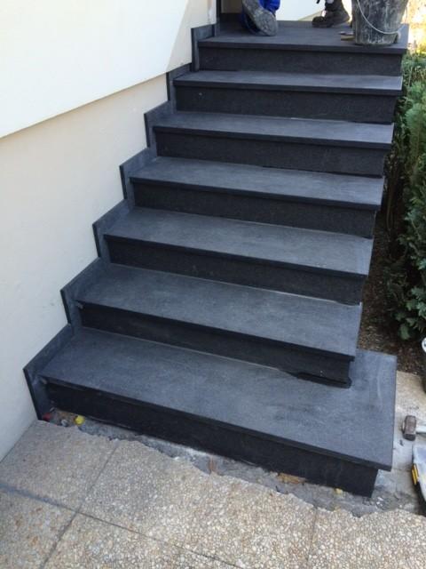 Escalier Granit 68 Escalier Exterieur Alsace Terrasse 68 Entreprise De Reference Dans Le Granit Et Le Marbre A Mulhouse Altkirch Colmar Alsagranit