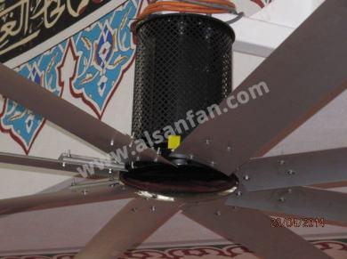 Cami Fancy Tavan Vantilatörleri, Cami Fancy Tavan Fanları Uygulaması