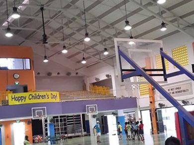 Education School Hall Ceiling Fans Applications, Education School Hall HVLS Fans Applications