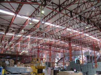 Industrial Factory Ceiling Fans Applications, Industrial Factory HVLS Fans Applications