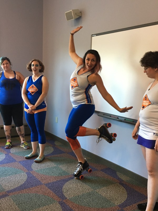 Roller Derby and Roller Girl- Shake Up Your Book Club With ...