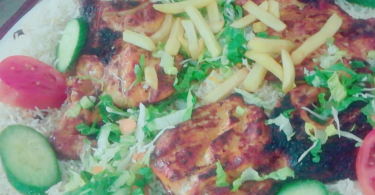 مطعم التاج الأخضر البخاري الاحساء