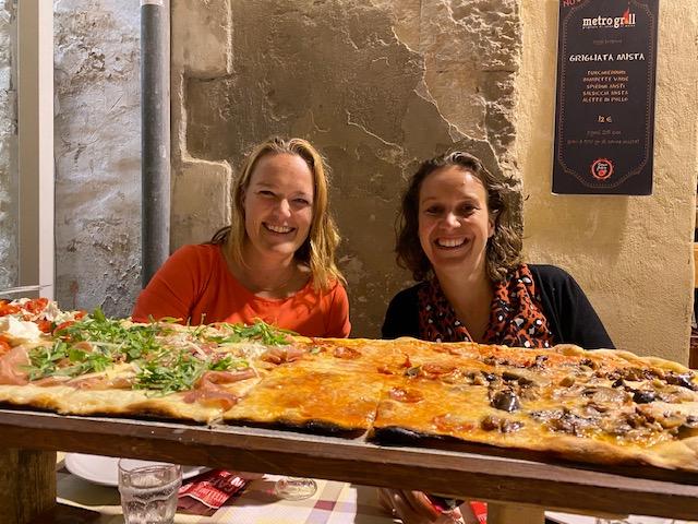 meter pizza Lecce