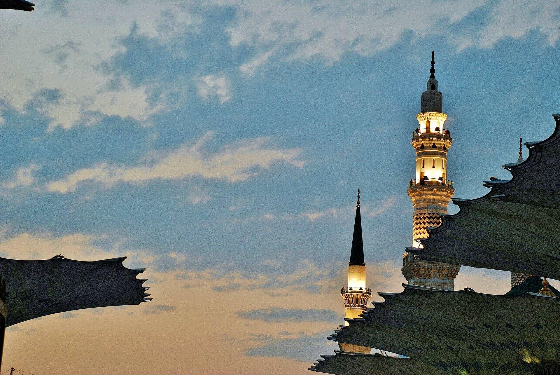 Mosquée Médine Arabie Saoudite
