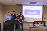 ITE Student Chapter Faculty Advisor and current ALSITE President Rod Turochy with the Auburn University ITE Student Chapter Traffic Bowl Team after their victory