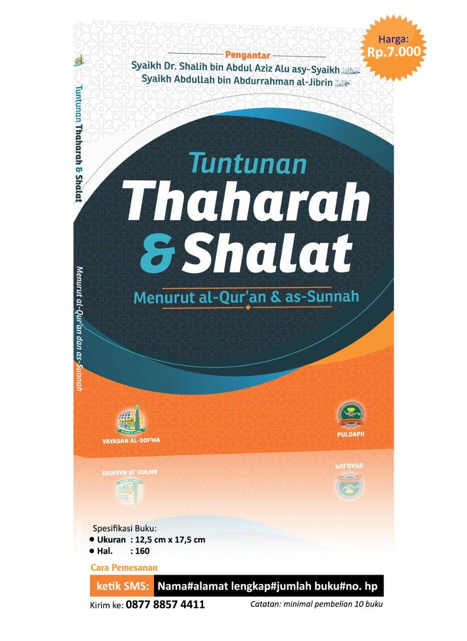 Tebar Buku Tuntunan Thaharah & Shalat Menurut Al-Qur'an & As-Sunnah