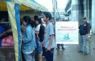 Penyaluran Bantuan Korban Bencana Banjir Jakarta 2018