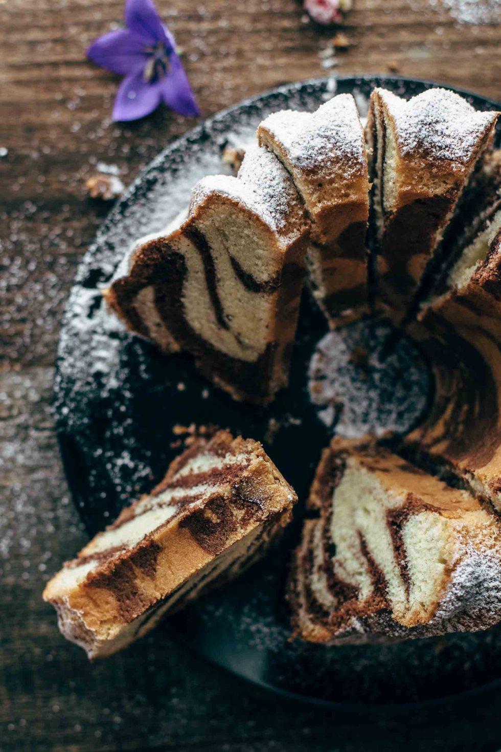 Austrian Marbled Bundt Cake Recipe